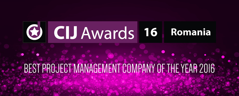 Best Project Management Company of the Year 2016