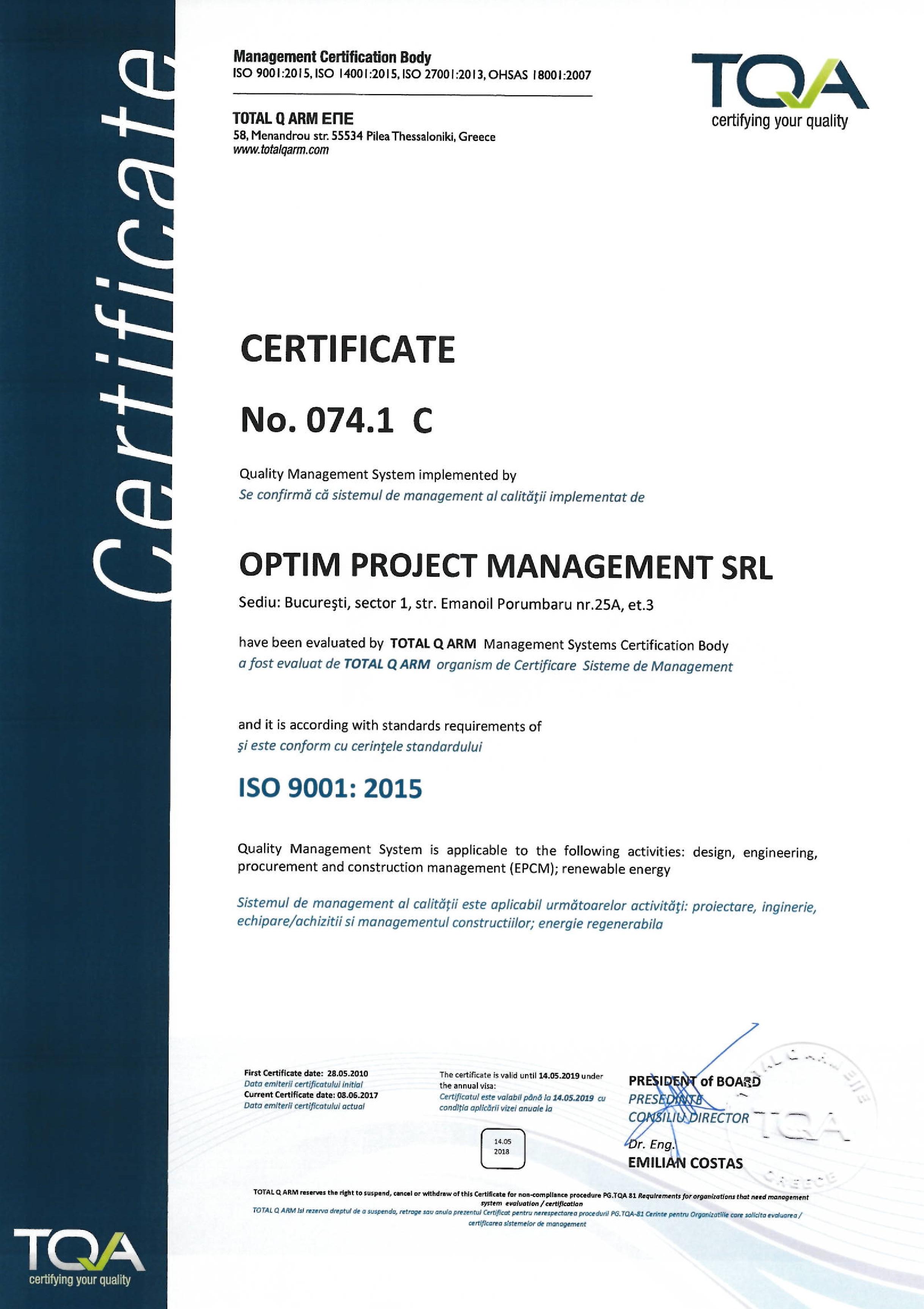 Careers optim project management certificates xflitez Images