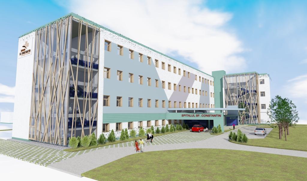 St Constantin Hospital, Brasov